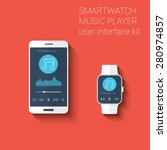 smartphone and smartwatch music ...