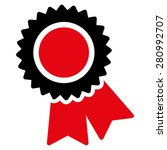 certification icon from... | Shutterstock .eps vector #280992707