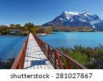 national park torres del paine  ... | Shutterstock . vector #281027867