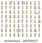 pixel people set for 8 bit...