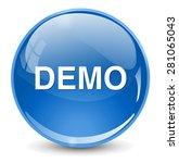 demo icon | Shutterstock . vector #281065043