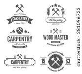 set of logo  labels  badges and ...   Shutterstock .eps vector #281096723