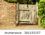 Countryside Scene. Rustic Old...