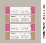 business infographics template... | Shutterstock .eps vector #281172803