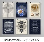 set of poster  flyer  brochure... | Shutterstock .eps vector #281195477