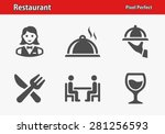 Restaurant Icons. Professional...