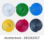 Set Of Six Plasticine Colorful...