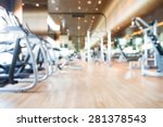 abstract blur gym background | Shutterstock . vector #281378543
