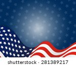 usa  united state of america... | Shutterstock . vector #281389217