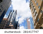 some office and residential... | Shutterstock . vector #281417747