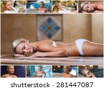 beauty  spa  healthy lifestyle... | Shutterstock . vector #281447087