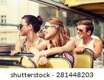 friendship  travel  vacation ... | Shutterstock . vector #281448203