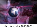 showing the business world in... | Shutterstock . vector #28152802