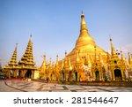 Shwedagon Paya Pagoda Myanmer...