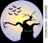 halloween night | Shutterstock . vector #28159402