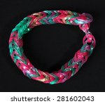 colorful  rainbow colors rubber ... | Shutterstock . vector #281602043