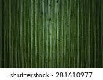 green bamboo fence background   Shutterstock . vector #281610977