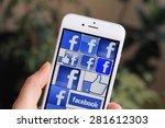 sarajevo   bosnia and... | Shutterstock . vector #281612303
