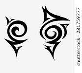 tattoos for the arms and... | Shutterstock .eps vector #281759777
