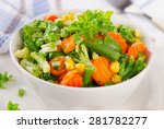 Mixed Vegetables In A Bowl....