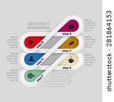 turn based creative infographic ...   Shutterstock .eps vector #281864153