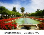 Gardens At The Alcazar De Los...