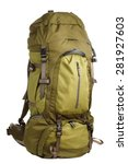 Large Camping Backpack Isolate...