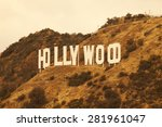 hollywood  ca usa   may 22 ... | Shutterstock . vector #281961047