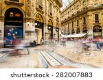 milano  italy   june 6  views... | Shutterstock . vector #282007883