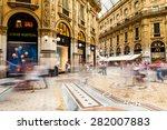 milano  italy   june 6  views... | Shutterstock . vector #282007883