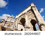 roman forum  or forum romanum  | Shutterstock . vector #282044807
