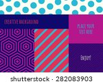 abstract vector flat creative... | Shutterstock .eps vector #282083903