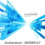 abstract geometric background... | Shutterstock .eps vector #282089117
