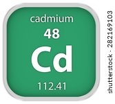 cadmium material on the... | Shutterstock . vector #282169103