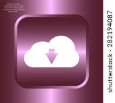 download from cloud icon....