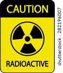 radioactive sign | Shutterstock .eps vector #282196007