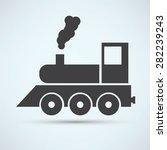 train icon | Shutterstock .eps vector #282239243