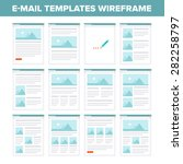 e mail templates design layout.