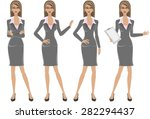 business woman | Shutterstock .eps vector #282294437