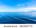 blue sea blue sky horizon | Shutterstock . vector #282303773