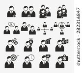 business icon vector | Shutterstock .eps vector #282316847