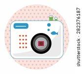 camera theme elements vector eps   Shutterstock .eps vector #282376187