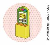 casino slot machine theme...   Shutterstock .eps vector #282377237