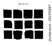 scribble square vector... | Shutterstock .eps vector #282390887