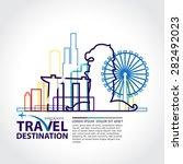 singapore vector | Shutterstock .eps vector #282492023