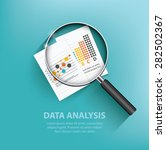 business analysis design on... | Shutterstock .eps vector #282502367