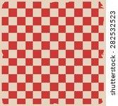retro tablecloth texture ... | Shutterstock .eps vector #282532523