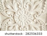 plaster ornament   Shutterstock . vector #282536333