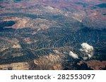 Abstract Green Hills Backgroun...