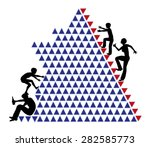 education inequality. concept...   Shutterstock . vector #282585773